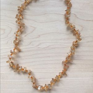 Jewelry - Magnetic Clasp - Faux Glass Necklace